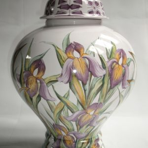 Lampe potiche Iris