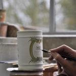 Peinture et décor sur faïence