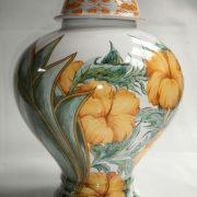 Lampe potiche Hibiscus 2