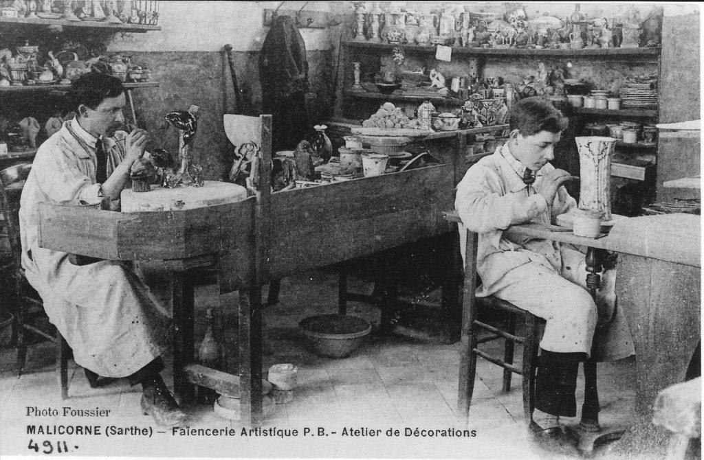 Emilie Tessier chez Léon Pouplard