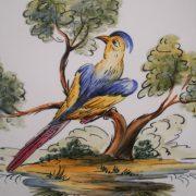Assiette oiseau 3