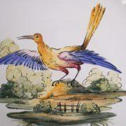 Assiette oiseau 5