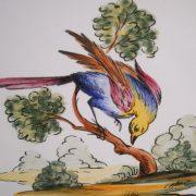 Assiette oiseau 6