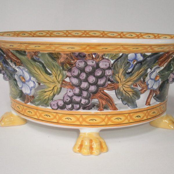 corbeille ovale italienne