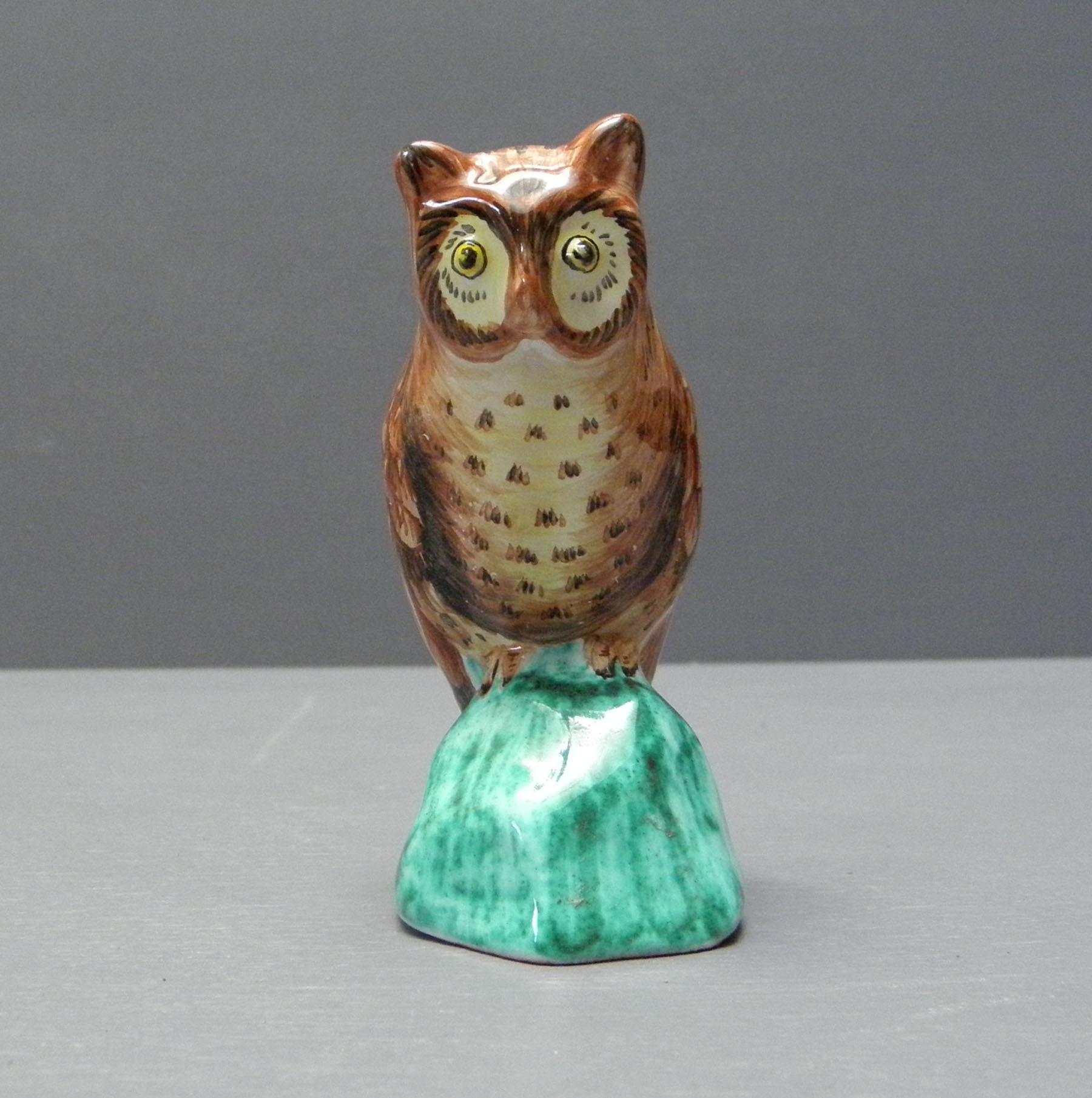 Chouette petit modèle - Faïenceries d'Art de Malicorne
