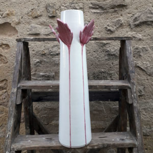 Vase érable rose G Nouri