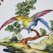 Assiette ajourée Oiseau N°1