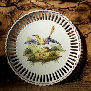 Assiette ajourée Oiseau N°5