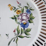 Assiette ajourée Les Roses N°1