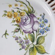 Assiette ajourée Les Roses N°3