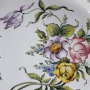 Assiette ajourée Les Roses N°6