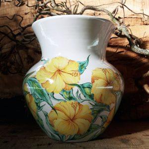 Vase grand champs Hibiscus