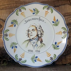 Assiette Révolution Beaumarchais